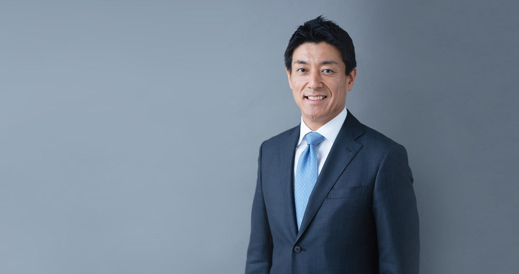 President Takeshi Tanaka,